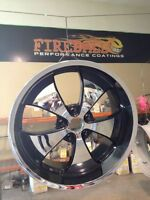 Rims & Wheels - Repaired & POWDER COATED