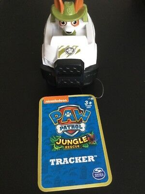Paw Patrol Jungle Rescue Tracker BNWT Free Shipping