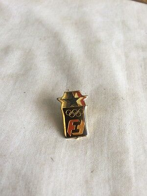 1984 L A Olympic First Interstate Bank Pin