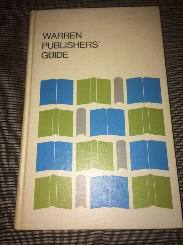 Warren Publishers Guide Book On Paper 1970 Printing Industry