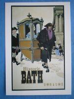 Postcard Gwr & Lms Historic Bath Poster -  - ebay.co.uk
