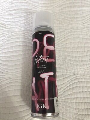 IGK Intern Flexible Hairspray 7.2 Oz New