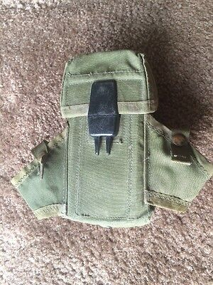 (2) US Military Ammo Ammunition Magazine Pouch Olive Drab Surplus