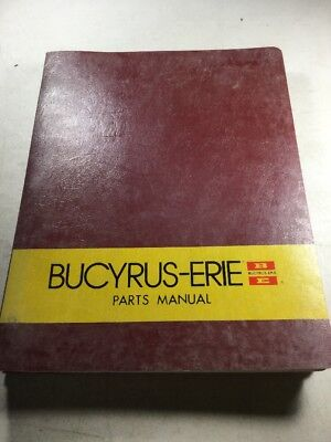 Bucyrus Erie 35c Crane Parts Manual