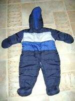 3 - INFANT 1 PC. WINTER COATS and WINTER HATS