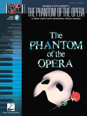 The Phantom of the Opera Sheet Music Beginning Piano Solo SongBook NEW 000103239