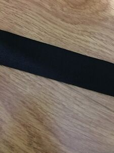1.5 Inch Thick Knitted Black Elastic 10 Metres Good Quality