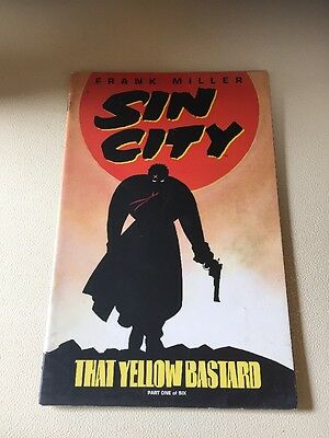 Sin City That Yellow Bastard #1 |  Dark Horse Comics | Frank Miller