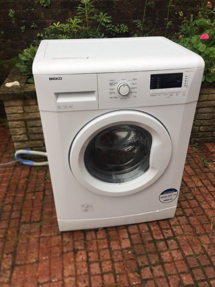 White BEKO Automatic Washing Machine.