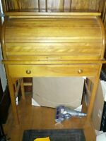 Junior Roll top desk with chair
