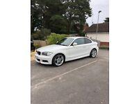 BMW 1 Series 123d White 2010 M Sport **VGC**