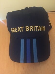 Adidas Team GB, Great Britain Olympics Cap, London 2012, New With Tags