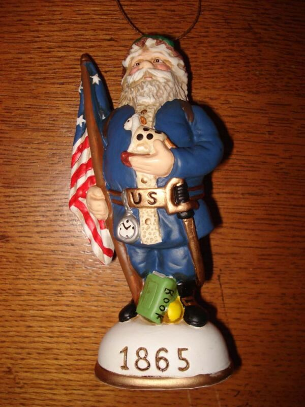 Memories of Santa Collection 1865 Santa Of The North (The Civil War) New In Box