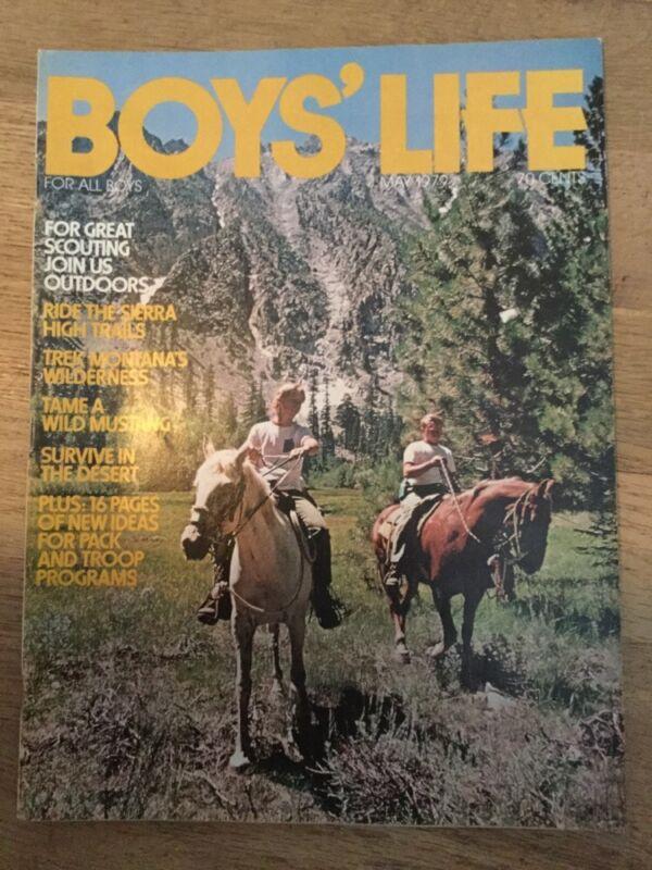 Boys Life Magazine May 1979