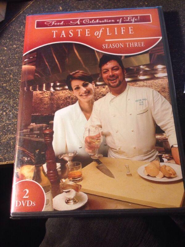 Taste Of Life: The Season Three (DVD, 2009, 2-Disc Set)
