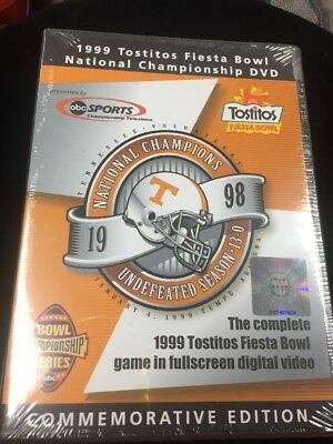 1998 TENNESSEE VOLUNTEERS NATIONAL CHAMPIONSHIP TOSTITOS BOWL DVD  BY ABC SPORTS