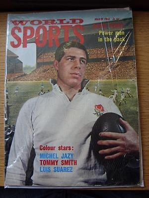 Mar-1966 World Sports Magazine: David Perry Power Man In the Pack - World Cup Ye