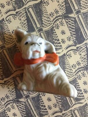 Vintage china Dog From A New York Dolls House Collection