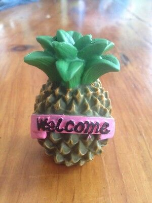 Pineapple Welcome House - Pineapple Art Decoration Welcome House and Garden Decor Spring Hawaii Cute