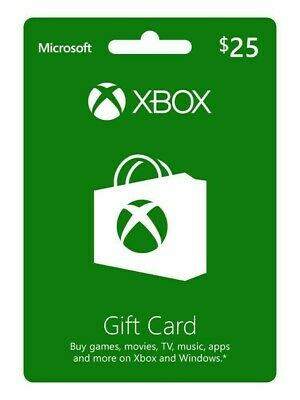 XBOX Live $25 USD Gift Card - XBOX ONE - USA ONLY