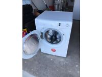 Hoover washing machine 8kg load