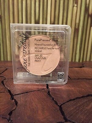 Jane Iredale PurePressed Base Mineral SPF 20 (Refill) Powder Ivory NEW ()
