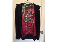 Men's TU Halloween Vampire/Dracula 3 Piece Fancy Dress Costume/Outfit