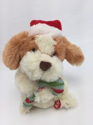 Puppy Dog Sings My Only Wish Christmas Song Xmas Stuffed Animated Toy 8