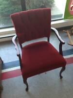 Red Fancy Sitting Chair for SALE