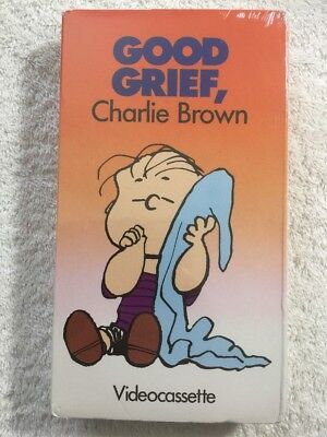 Good Grief, Charlie Brown (Prev. Viewed VHS) RARE HTF!