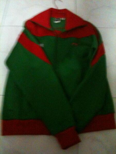 puma jacket - greed red