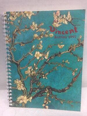 Vincent Van Gogh 1997 Agenda Planner From the Van Gogh Museum Loaded w/Art Works