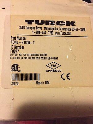 New Sealed Turck Fdnl-l1600-t Io Module For Devicenet Fdnl Series 16 Inputs