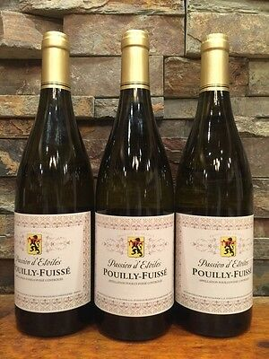 3-Bottles 2015 Passion D Etoiles Pouilly-Fuisse
