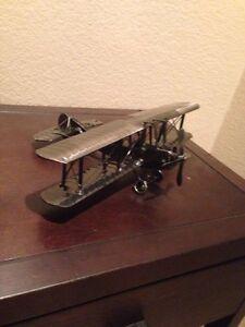 Metal Airplane Decor Ebay