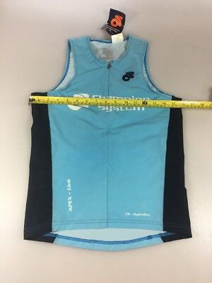 Champion System Womens Tri Top Small S (5796-5)