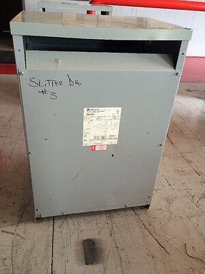 Cutler Hammer Isolation Transformer Md51e92 51 Kva Pri 460 Delta Sec 460y266