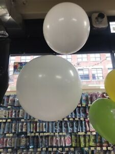 Large Helium filled balloons