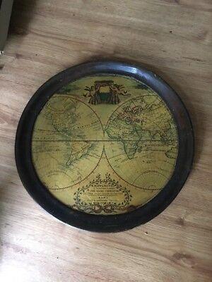 Made in Italy Mappa Mondo Tray Wooden
