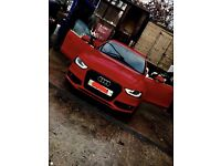 AUDI A4 S LINE RED 2.0TDI BLACK EDITION FACELIFT STYLING 2012+