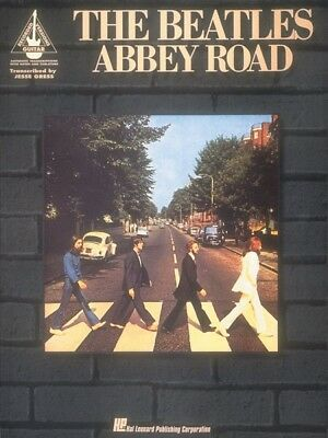 The Beatles Abbey Road Sheet Music Guitar Tablature NEW 000694880