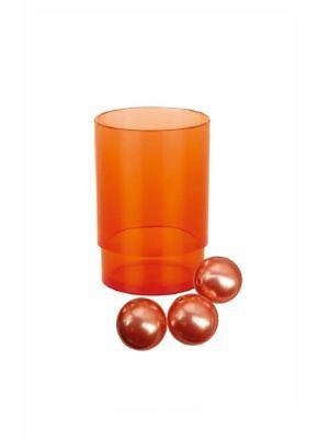 Orange Zahnbürstenhalter (Spirella NYO Orange Zahnbecher Becher  Zahnbürstenhalter  Schweizer Marke)
