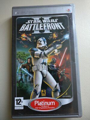 STAR WARS BATTLEFRONT 2 - SONY PSP - FREE UK POSTAGE