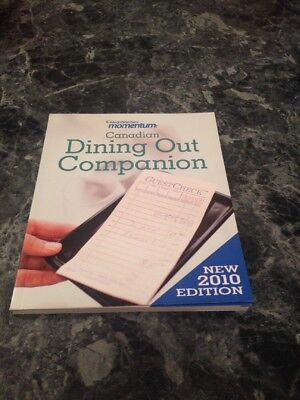 WEIGHT WATCHERS CANADIAN DINING OUT COMPANION 2010 NEW