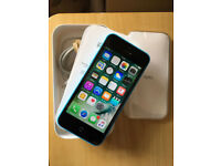 iPhone 5C Unlocked Blue very good condition