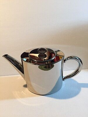 Stainless Steel Teapot Tea Pot Coffee With Leaf Filter Strainer Infuser