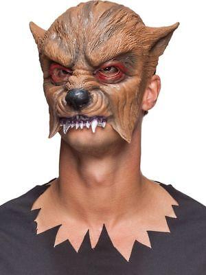 Orl - Kostüm Zubehör Halbmaske Maske Werwolf Karnval - Werwolf Kostüm Zubehör