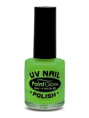 Paint Glow, Neon UV Lipstick, Intense Green, Party/Festival/Halloween Makeup #DE ()