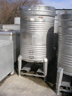 1000 Liter 250 264 Gallon Stainless Steel Sanitary Tank Beer Wine Tote Keg