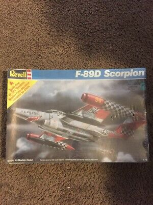 Revell 1/72 scale F-89D Scorpion Model Kit 1992 for sale  Dwight